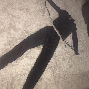 Black velvet American apparel